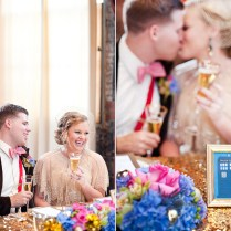 Through All Of Space Time { Doctor Who Inspired Wedding Day