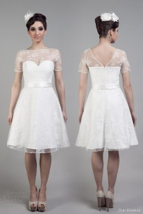 Tobi Hannah 2015 Short Wedding Dresses — Adventure Bridal