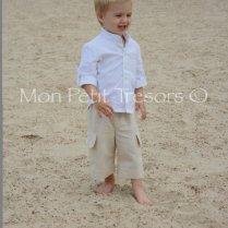 Toddler Boy Beach Wedding Attire
