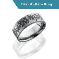 Top Deer Hunter Wedding Bands For Men