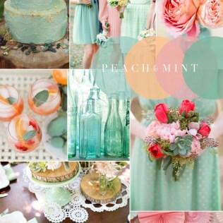 Vintage Wedding Colour Combinations