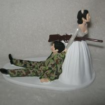 Wedding Cake Toppers Army