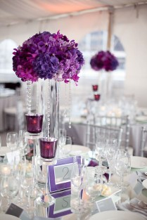 Wedding Centerpieces Ideas Multi Colored White And Golden Balloon