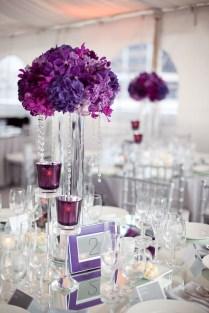 Wedding Centerpieces Ideas Multi Colored White And Golden Balloon