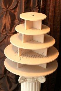 Wedding Cupcake Stands Diy