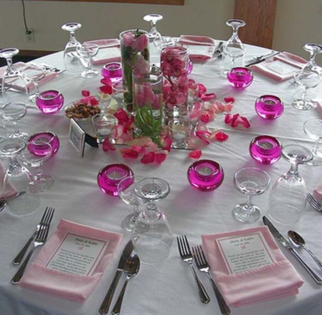 Wedding Decoration Ideas For Tables At Reception