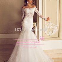 Wedding Dresses Off The Shoulder Sleeves
