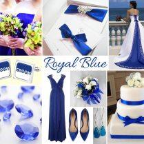 Wedding Inspiration Board – Royal Blue