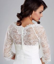 Wedding Lace Bolero Jacket Uk