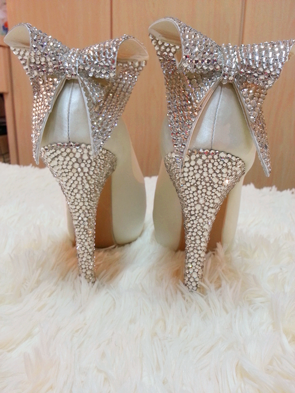 Wedding Shoes With Bling