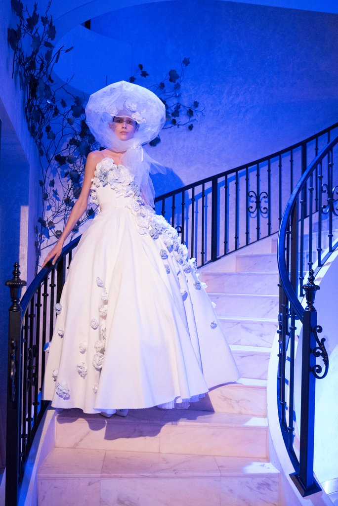 0957c214457 Western Denim Wedding Dress