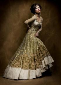 White And Gold Indian Wedding Dresses Naf Dresses