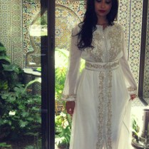 White Moroccan Wedding Dress