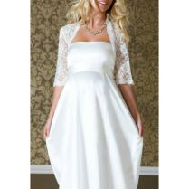 White Simple Wedding Dress White Wedding Dresses Fancy Simple