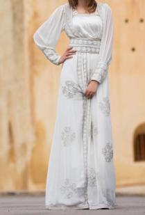 White Wedding Abaya Dress Ideas For Islamic Girls – Girls Hijab
