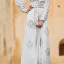 White Wedding Abaya Dress Ideas For Islamic Girls – Girls Hijab