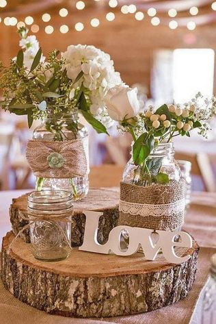 Best 25 Rustic Wedding Decorations Ideas On Emasscraft Org