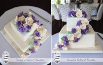 Ivory And Purple Roses For A Summer Wedding At Maleny Manor