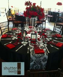 Red Black And White Wedding Ideas Best 25 Red And Black Table
