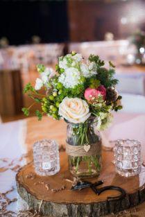 Wonderful Rustic Wedding Centerpieces Wedding Rustic Wedding
