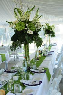 Beautiful Green Wedding Decoration Ideas 96 On Table Runners