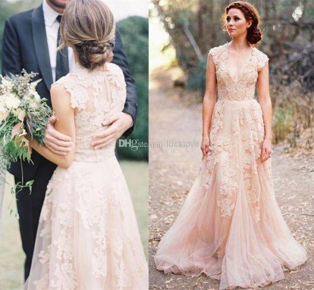 Blush Wedding Gown Best 25 Blush Wedding Dresses Ideas On