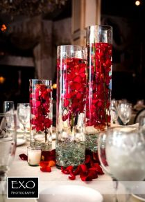 Captivating Wedding Decorations With Red Roses 84 On Table Runners