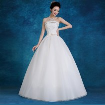 Changeable Wedding Dress Sleeveless Scoop Court Train Tulle A