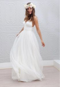 Fascinating Wedding Beach Dresses 46 For Your Cupcake Wedding