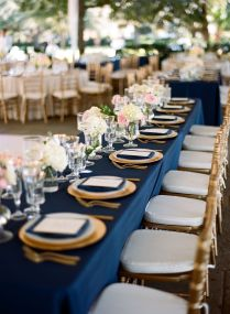 Interesting Navy Wedding Table Decorations 29 On Wedding Table