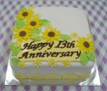 Jenn Cupcakes & Muffins 13th Anniversary Cake
