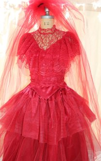 Lydia Deetz Red Wedding Dresses – Reviewweddingdresses Net