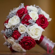 Red And Cream Wedding Bouquets Best 25 Red Silver Wedding Ideas On