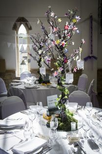 Tree Centrepiece Wedding