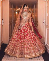 Wedding Dress Of Indian Bride 2644