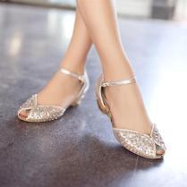 Wedding Shoes Ideas Small Front Tie Multi Rhinestones Cream Bling