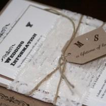 15 Beautiful Shabby Chic Wedding Invitations
