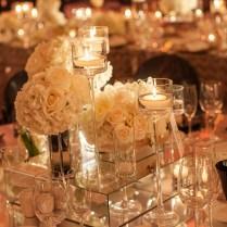 16 Stunning Floating Wedding Centerpiece Ideas Candle Centerpieces