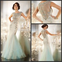 1920's Art Deco Style Flapper Wedding Gowns By Artdecogown On