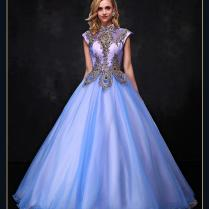 2017 Victorian Wedding Dresses Crystals Cape Sleeves Vintage