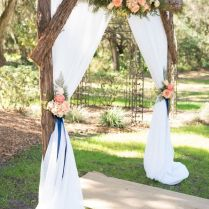 25 Chic And Easy Rustic Wedding Arch Ideas For Diy Brides Rustic