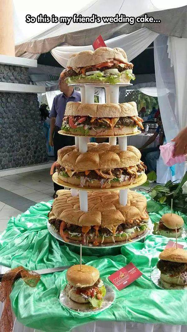 Bbq Themed Wedding Reception