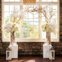 30 Chic Rustic Wedding Ideas With Tree Branches