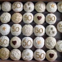 50th Birthday Cupcakes Decorations