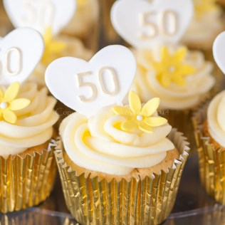 50th Wedding Anniversary Cupcake Ideas Cakepins Com