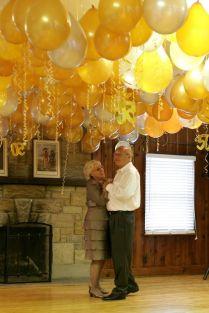50th Wedding Anniversary Decor