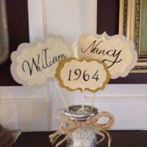 50th Wedding Anniversary Decoration Ideas Best 25 50th Anniversary