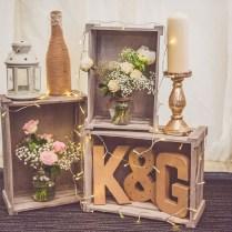 55 Gorgeous Rustic Vintage Wedding Centerpieces Ideas