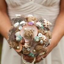 56 Stunning Beach Wedding Bouquets