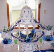 58 Best Fountain Wedding Cakes Images On Emasscraft Org